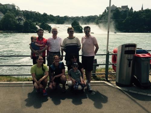 Teilnehmer des eClub 2000 an der Helptour. Vielen Dank und es hat Spass gemacht!