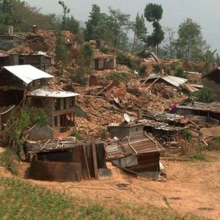 Gerade in den armen Bergregionen ist der Schaden verheerend.